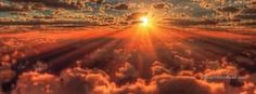 Clouds and Sun, Free Facebook Timeline Profile Cover, Nature