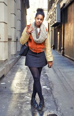Up style cred with a letterman jacket #streetstyle #londonstreetstyle
