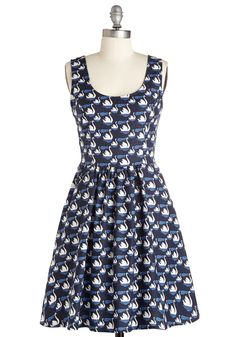 Good Enough to Float Dress. When it comes to feeling pretty, proclaim your proclivity for all things graceful in this A-line frock.  #modcloth