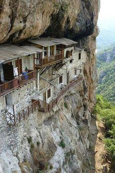 St John the Prodrome's Monastery - Arcadia, Greece...