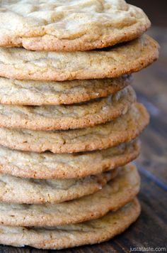 Soft and Chewy Peanut Butter Cookies - It is not just the recipe that achieves the soft and chewy cookie; so if you like soft and chewy, this recipe promises to deliver.  No cakelike cookies here.