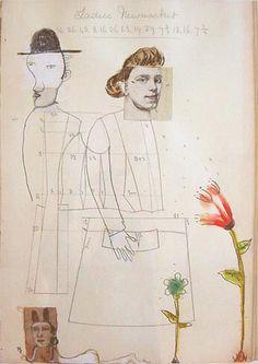 Deborah Barrett #naive #collage #art
