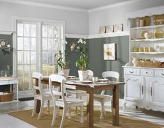 Great Greens | Soothing colors and Benjamin moore
