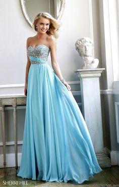 Sherri Hill 3914, Sherri Hill Dresses, Prom 2014, Madame Bridal