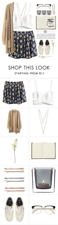 """""""Whale Song"""" by angelloch ❤ liked on Polyvore featuring H&M, OKA, Harrods, Madewell, Leonardo, Jack Wills, Juicy Couture, casual and simple"""