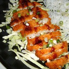 Ashley's Chicken Katsu with Tonkatsu Sauce Allrecipes.com