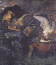 Orestes and the Erinyes - Franz Stuck.