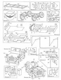 RC Tanks - Willys jeep in - Jeep Willys, Kids Jeep, Go Kart Plans, Rc Tank, Jeep Cars, Aircraft Design, Pedal Cars, Paper Models, Jeep Wrangler
