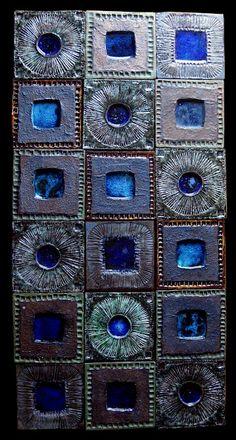 Tiles by Ferreira da Silva - SECLA. Hearth And Home, Contemporary Ceramics, Green Turquoise, Dream Decor, Portugal, Mosaic Tiles, Pottery Art, Ceramic Art, Peridot