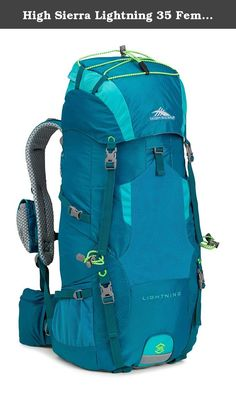 High Sierra Lightning 35 Female Pack, Sea/Tropic Teal/Zest. High sierra designs feature-rich, versatile adventure lifestyle gear for adventurers everywhere. Since our founding in 1978, we've committed ourselves to creating durable, affordable product with distinctive details, delivering the freedom to go anywhere-near or far, on roads or trails, on mountain ridges or snowy slopes, no matter what form your adventure takes.