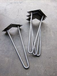 Hairpin Legs | Metal Table Legs | Stainless Steel Legs | Custom Furniture Legs
