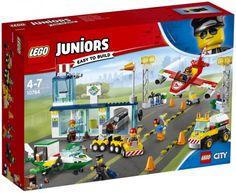 LEGO Juniors City Central Airport 10764 Building Kit 376 PC Multicolor for sale online Lego City, Lego Toys, Lego Duplo, Legos, Lego Junior Sets, Avion Cargo, Construction Lego, Lego Juniors, Fuel Truck