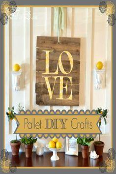 Pallet DIY crafts