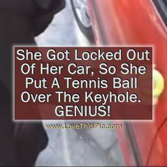 If Use Ever Lock Your Keys In Your Car Use This Simple But Amazing Trick... diy video life hacks videos good to know diy videos viral videos viral videos right now viral right now amaing