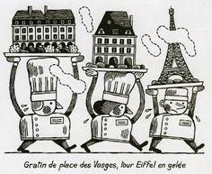 La Belle Illustration: Jochen Gerner, Guide Fooding édition 2012
