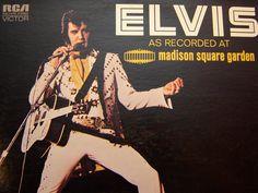 Elvis Presley - As Recorded at Madison Square Garden - 1972 - RCA Records AQL1-4776 - Vintage Vinyl LP Record Album. $10.00, via Etsy.