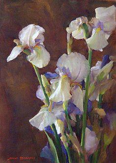 "John McCartin - ""Wytt's irises"""