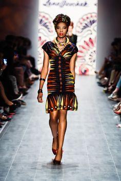 MAKONGA DRESS ~African fashion, Ankara, kitenge, African women dresses, African prints, African men's fashion, Nigerian style, Ghanaian fashion ~DKK