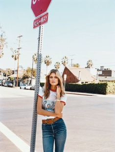 Self Service Magazine Spring Summer 2015 Model: Malgosia Bela Photographer: Angelo Pennetta Fashion Editor: Ondine Azoulay Hair: Rudi Lewis Make-up: Lotten Holmqvist Daily Fashion, 70s Fashion, Denim Fashion, Trendy Fashion, Vintage Fashion, Fashion Hair, Timeless Fashion, Runway Fashion, Kurt Geiger