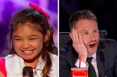 """This Little Girl Singing """"Girl On Fire"""" On """"America's Got Talent"""" Left Chris Hardwick Speechless"""
