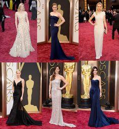 Favorite Oscar Dresses 2014