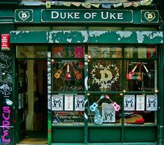The Duke of Uke in London (which might be closing soon, sigh)