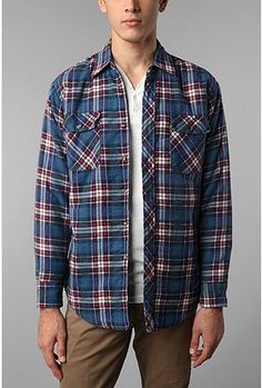 Urban Renewal Vintage Quilted Flannel  $49.00 available at Urban Outfitters