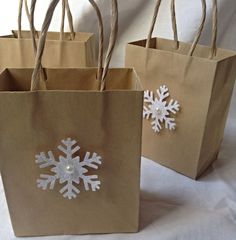 This listing is for three bags as shown. These adorable gift bags are perfect…