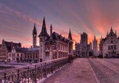 Gent o Orgulho da Bélgica - Bilhete de Viagem