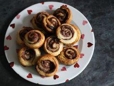 Nutella swirls...easy bake for half term breakfasts