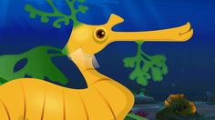 Leafy Sea Dragon Song   ChuChuTV Sea World   Animal Songs For Children