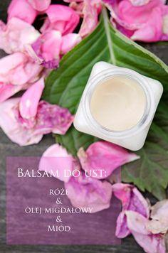 Balsam do ust Diy Spa, Beauty Hacks, Beauty Tips, Natural Cosmetics, Natural Beauty, Diy And Crafts, Soap, Herbs, Homemade