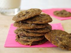 Out of This World Vegan Chocolate Chip Cookies from Weelicious (http://punchfork.com/recipe/Out-of-This-World-Vegan-Chocolate-Chip-Cookies-Weelicious)