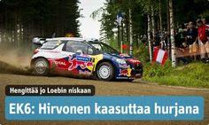Mikko Hirvonen, Suomen MM-ralli - Finnish World Rally