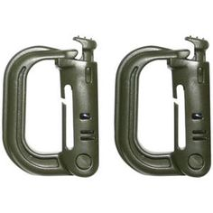 VIPER TACTICAL D-RING WEBBING ATTACHMENT ARMY MILITARY COMBAT MOLLE CLIP 2 PACK