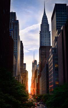 Photograph Manhattanhenge by Jeremy Wood on 500px
