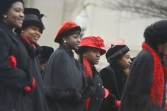 """Delta Sigma Theta Sorority honors historic march - The Washington Post -  Guided by the event's theme, """"Tracing the Footsteps of our Founders,"""" Deltas retrace the footsteps of their original members who participated in the Women's Suffrage March of 1913."""