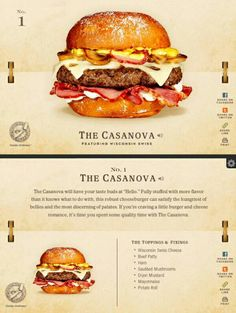 40 Of The Most Delicious-Looking Cheese Burger Combinations Ever – UltraLinx Gourmet Burgers, Burger Recipes, Burger Dogs, Sandwiches, Delicious Burgers, Tasty, Yummy Food, Food Humor, Love Food