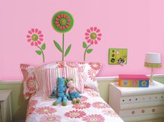 Floral Themed Room For Every Girl