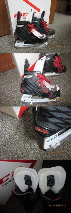 Ice Hockey-Youth 26342: New Ccm Shock Hockey Skates, Skate Size 1.5, Gender Jr, Width D -> BUY IT NOW ONLY: $74.99 on eBay!
