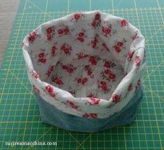 come creare un sacchetto di stoffa
