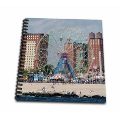 Coney island, amusement park - Drawing Book, 8 by Coney Island Amusement Park, Ny Map, Walmart, Rocks, How To Plan, Drawings, Sketches, Stone, Drawing