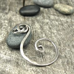 Hand-Forged Pendant Sterling Silver by OzmayDesignsSupplies