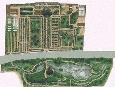 Giverny - Vernon : Claude Monet's garden map