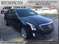 2013 Cadillac ATS 2.0L I4 RWD Performance $39,988 http://www.ritcheycadillacbuickgmc.com