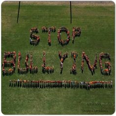 Seriously, it needs to stop. People don't realize how much their words hurt and it leads to worse things. So we need to stop the bullying