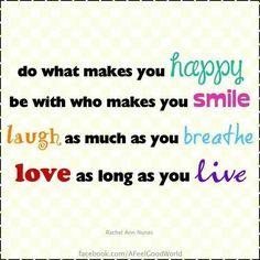 Happy smile laugh love