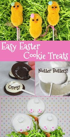 Transform Store-Bought Cookies into Adorable Easter Critters!