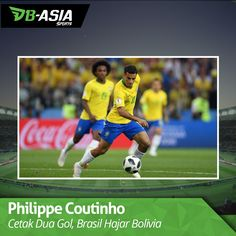 Philippe Coutinho berhasil memperlihatkan kelasnya ketika membawa Brasil menghajar Bolivia di laga pembuka Grup A Copa America 2019. Dua gol yang dicetaknya membuktikan kalau pemain Barcelona itu bisa menggantikan peran Neymar. Bolivia, Soccer, Sports, Philippe Coutinho, America, Hs Sports, Futbol, European Football, European Soccer