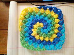 Granny Square Spiral - Media - Crochet Me